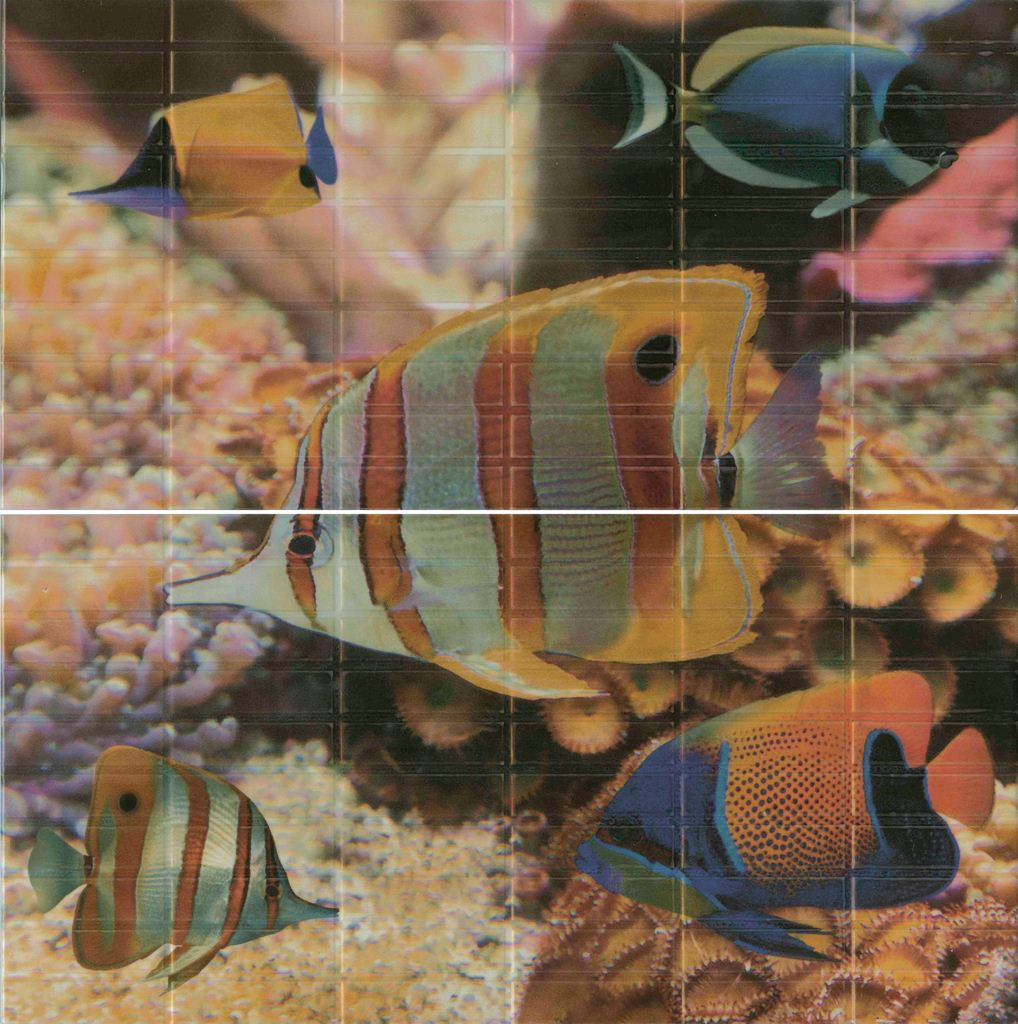 Sunset Aquarium (2 шт) 50x50 панно