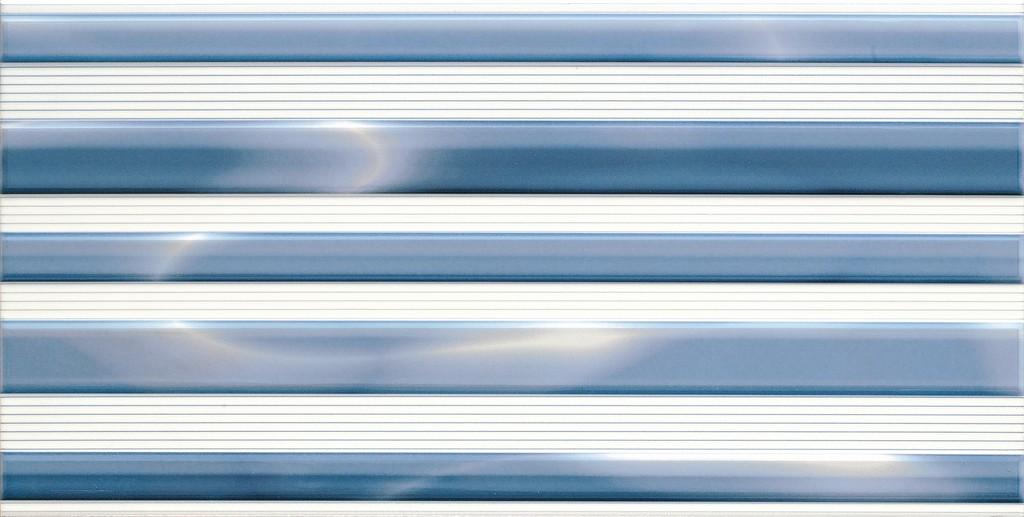 Decor Allegro Azul 25x50 декор