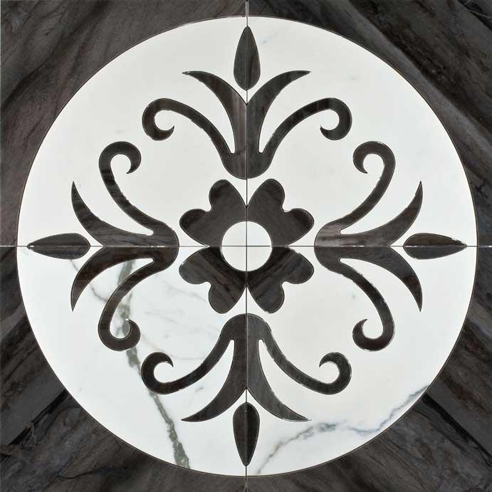 Dark Centro Pulido 58,5x58,5 декор напольный