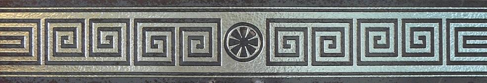 Tondo Listelo Silver 10x58,5 бордюр напольный