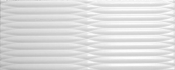 7089 Аквилон белый 20х50 плитка настенная