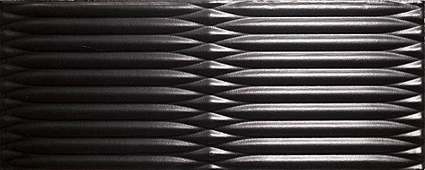 7090 Аквилон черный 20х50 плитка настенная
