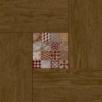 Bellariva коричневый 42х42 плитка напольная