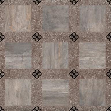 Bergamo коричневый 42x42 напольная плитка