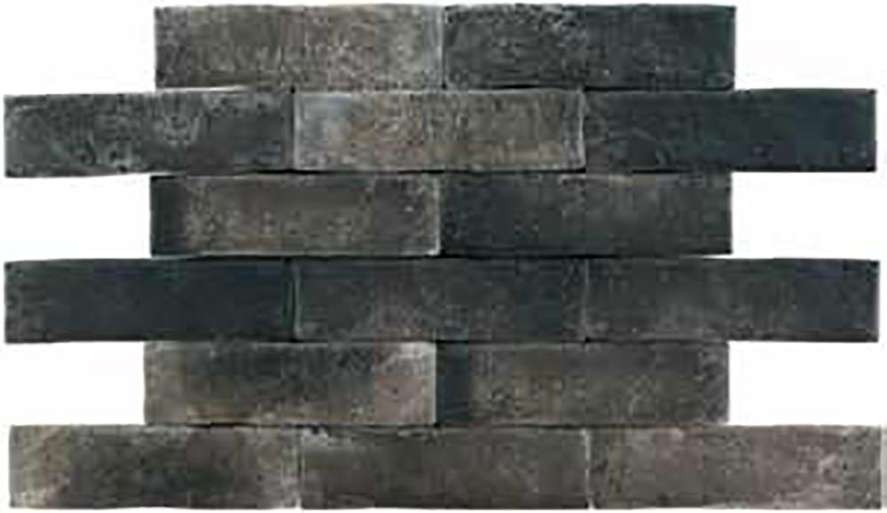 Brickwall Grafito 7x28 плитка настенная