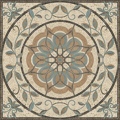 Mosaico 90x90 панно напольное
