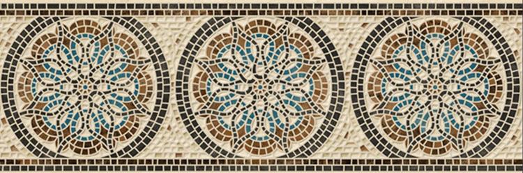 Mosaico 15x45 бордюр напольный